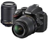 Nikon D3200 + 18-55 mm VR + 55-200 mm VR - Spiegelreflexcamera