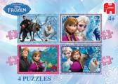 Disney Frozen 4 in 1 - Kinderpuzzel