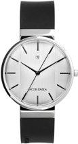 Jacob Jensen 737 horloge dames en heren - zwart - edelstaal