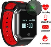 JC's A2 Activity Tracker - Fitness Monitor – SmartWatch Sporthorloge – Hartslagmet
