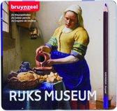 Bruynzeel Hollandse Meesters blik 24 kleurpotloden - Het Melkmeisje van Vermeer