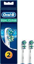 Oral-B Dual Action - 2 Stuks - Opzetborstels