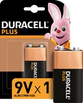 Duracell MN1604 Single-use battery 9V Alkaline
