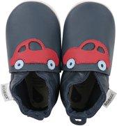 Bobux - Soft Soles Giants - Race auto navy en rood - Babyslofjes - EU 27