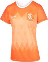 Nederlands Elftal Dames Voetbalshirt Thuis Blanco 2019-2021 Meisjes-Vrouwen-L