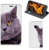 Samsung Galaxy Xcover 4s Hoesje maken Kat