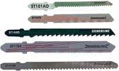 Silverline 10-delige set, hout/metaal