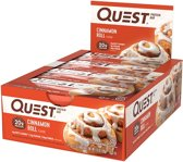 Quest Nutrition Quest Bar - Eiwitreep - 1 doos (12 eiwitrepen) - Cinnamon Roll
