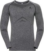 Odlo Suw Top Crew Neck L/S Performance Light Sportshirt Heren - Grey Melange