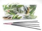 3x Darshan Witte Salie/White Sage wierook - 20 stokjes / geurstokjes