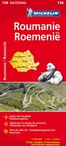 Michelin wegenkaart Roemenie