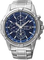 Seiko SSC141P1 - Horloge - Ø 42 mm - Zilverkleurig - Solar uurwerk