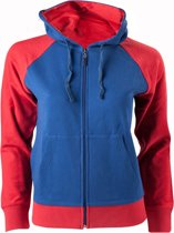 Captain America - Dames hoodie met Borduursel - Rug print - XL