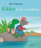 Boek cover Kikker - Kikker en de vreemdeling van Max Velthuijs