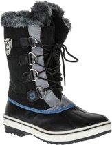 Wintergrip Snowboots - Maat 38 - Vrouwen - zwart/grijs/blauw