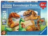 Ravensburger Disney The Good Dinosaur Speciale vriendschap Twee puzzels van 24 stukjes