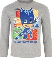 Pj Masks Jongens T-shirt - grey - Maat 104