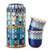 Images D'Orient POR-902042 kopje Multi kleuren Koffie 2 stuk(s)