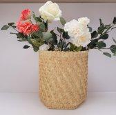 Natural Rieten Mand Palmyra Woven Straw Basket Large