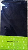 Evora elastische rekbare boekenkaft Zwart