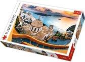 Sprookjesachtig Santorini, 1000 stukjes Puzzel