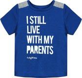 Ducky Beau Baby T-shirt - True Blue - Maat 92