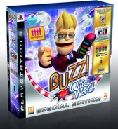 Buzz: Quiz World + 4 Wireless Buzzers