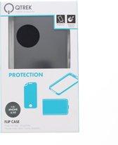 Qtrek Zwart Flip Case iPhone 6 / 6s