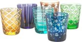 Pols Potten Glas Cuttings Set/6
