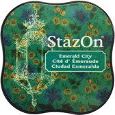 Stazon sneldrogend stempelkussen midi Emerald City