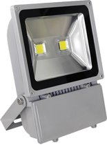 Led floodlight / schijnwerper 100 watt koud licht