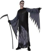 Zwart zielen reaper kostuum voor mannen - Volwassenen kostuums