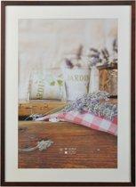 Fotolijst - Henzo - Jardin - Fotomaat 50x70 - Donkerbruin
