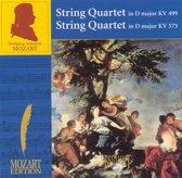 Mozart: String Quartet in D major, KV 499; String Quartet in D major, KV 575