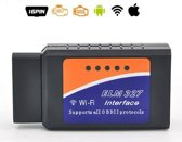 OBD2 WIFI adapter, ELM 327, Auto diagnose scan tool voor foutcode's, Android & IOS APPLE IPHONE