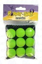 Leif Plopper ballen groen - 9 stuks