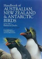 Handbook of Australian, New Zealand, and Antarctic Birds