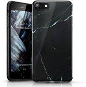 iPhone 7 / 8   - hoesje ESR Vogue Marble/ Marmer - Zwart & witte strepen