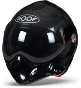 ROOF BoXXer Carbon Zwart Systeemhelm - Motorhelm - Maat XL