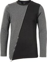 Zumo langere sweater fleece voering - Maat M