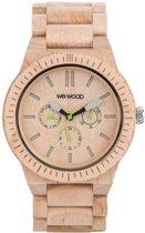 WeWOOD KAPPA Beige  - Horloge - Crème - 41 mm