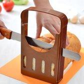 Brood snijden hulpmiddel