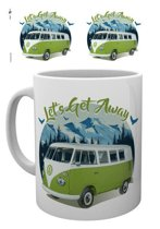 Volkswagen VW Camper Lets Get Away Mountain - Mok