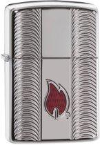 Aansteker Zippo Armor Case Flame Armor