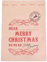Persoonlijke kerstzak - gift kerstzak-  merry christmas Ho Ho Ho