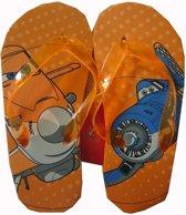 Oranje slippers van Disney Planes maat 27/28