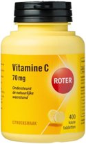 Roter Vitamine C Citroensmaak - 400 Kauwtabletten - Vitaminen
