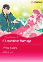A Scandalous Marriage (Harlequin Comics)
