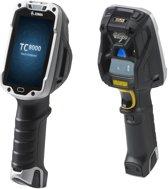 Zebra TC8000 PDA 10,2 cm (4'') 800 x 480 Pixels Touchscreen 490 g Zwart, Zilver