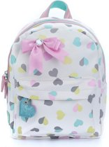Zebra Trends Kinder Rugzak S Hearts White